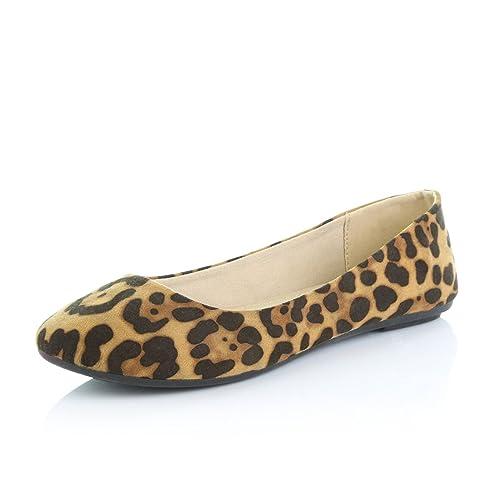 34d7e825c7c2d Leopard Flats: Amazon.com