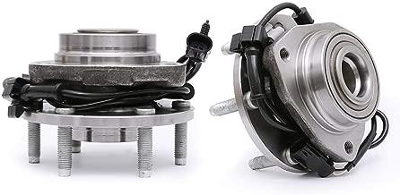 FKG 513188 Front Wheel Bearing Hub Assembly for 02-09 Chevy Trailblazer (EXT), 03-06 Chevy SSR, 02-09 GMC Envoy, 03-08 Isuzu Ascender, 04-07 Buick Rainier, 05-09 SAAB 9-7X, 6 Lugs W/ABS Set of 2