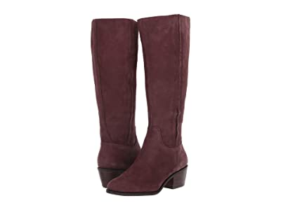 Lucky Brand Iscah Wide Calf (Raisin) Women