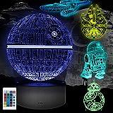 3D illusion Lampe Geschenke, 5 Stück 3D Nachtlicht 16