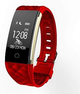 Pulsera de Actividad Reloj Inteligente con Pulsómetro y Presión - Arterial Relojes Deportivos GPS Impermeable IP67 Monitor de Ritmo Cardíaco Actividad Pulsera Mujer Hombre Reloj Fitness Podómetro