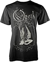 Opeth T Shirt Chrysalis Leave It All Behind You Logo Official Mens Black