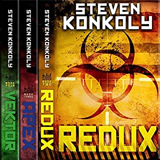 The Black Flagged Thriller Series Boxset: Books 2-4                   By:                                                                                                                                 Steven Konkoly                               Narrated by:                                                                                                                                 John David Farrell                      Length: 45 hrs and 14 mins     114 ratings     Overall 4.5