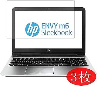 【3 Pack】 Synvy Screen Protector for HP Envy Sleekbook m6-k000 / k010dx / k088ca / k025dx / k015dx / k022dx 15.6