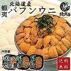 北海道産 蝦夷バフンウニ 水産物応援商品 水産業界最安値に挑戦 生うに 塩水ウニ 100g×3パック 塩水ウニ