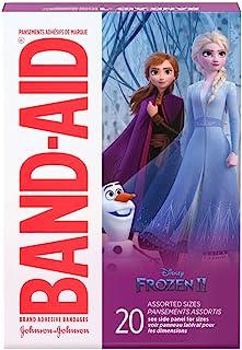 Band-Aid Adhesive Bandages Disney's Frozen, Assorted Sizes, 20 ea