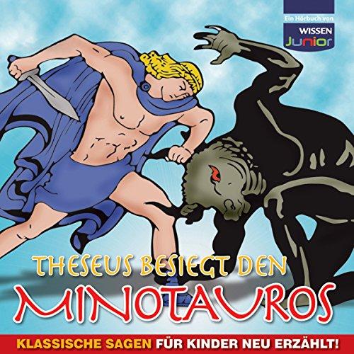 Theseus besiegt den Minotauros audiobook cover art