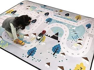 IHEARTYOU Small Village Thick Foam Play Mat Non-Slip Non Toxic Baby Crawling Mat Creeping Mat Kids Activity Mat Baby Rug PlayPen Mat, 78.7