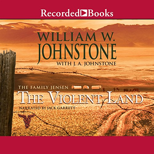 The Violent Land audiobook cover art