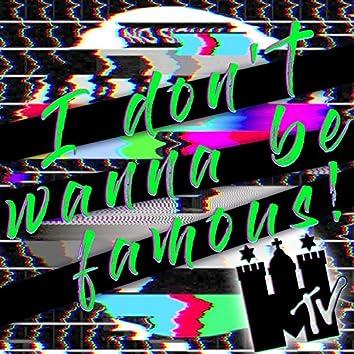 I Don't Wanna Be Famous