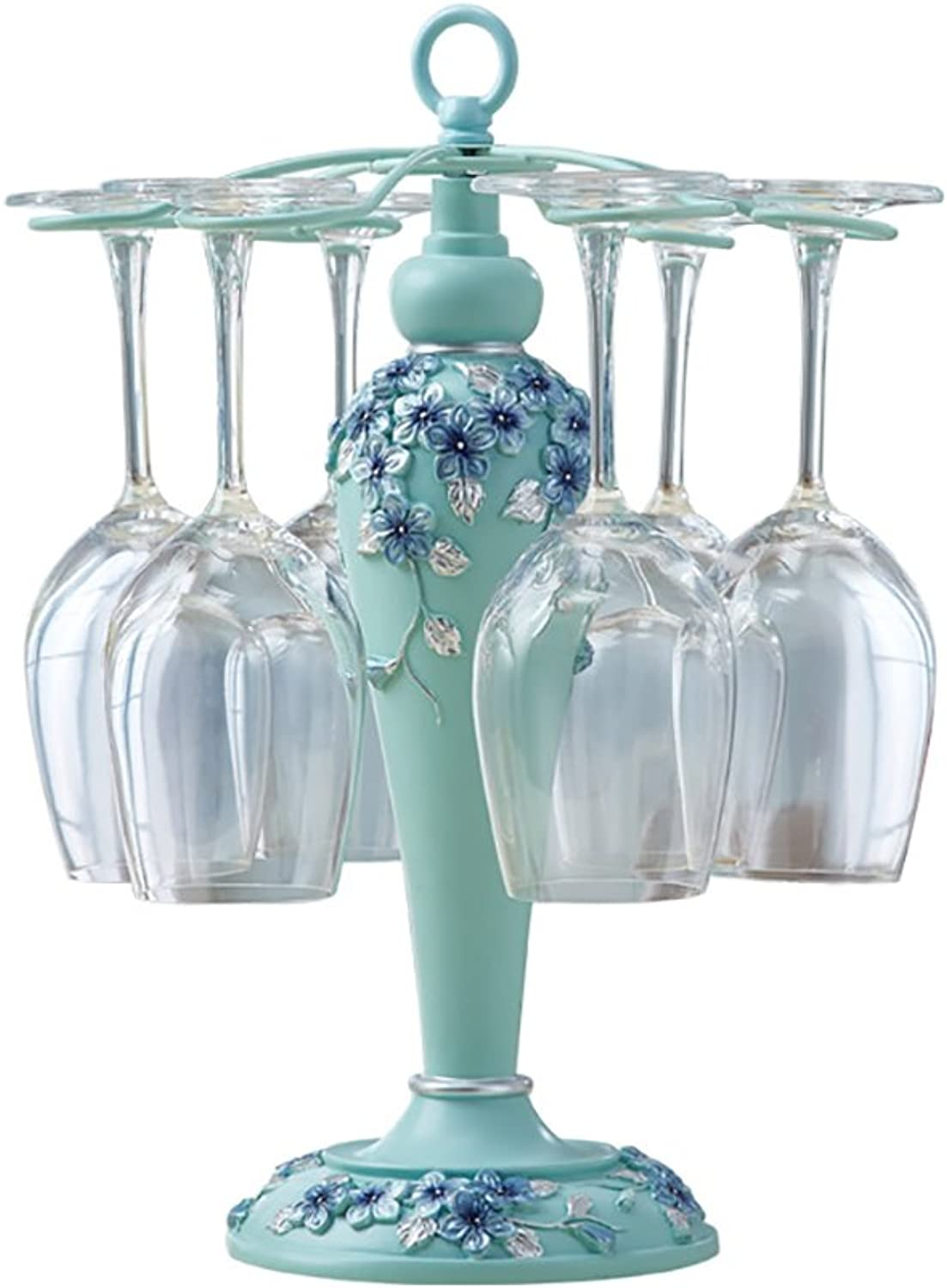 Wine Glass Holder European Creative Resin Home Wine Cabinet Decorations Linked to 6