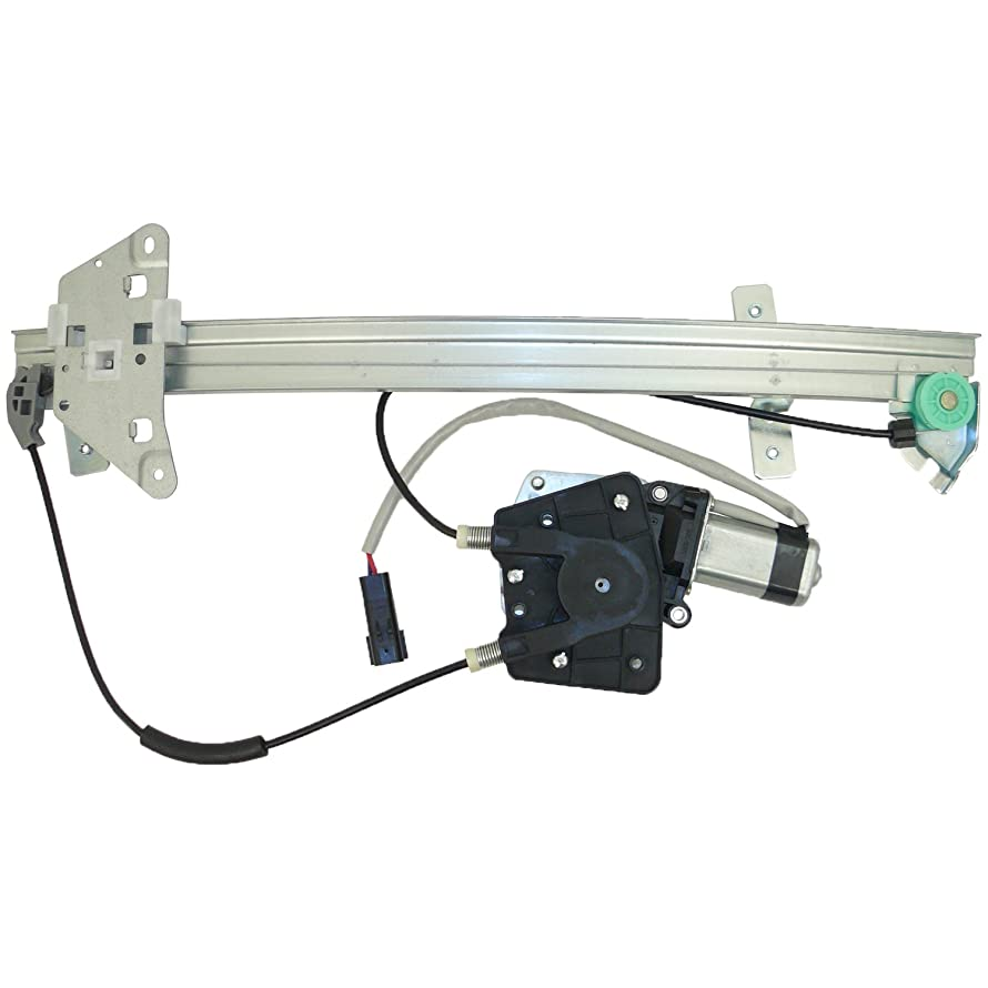 ACDelco 11A98 Professional Front Driver Side Power Window Regulator with Motor