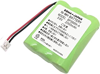 【通話時間3.3倍/大容量2000mAh】SAXA サクサ WS200 WS240 WS-II の BP366N-A コードレスホン 子機 電話機 充電池 バッテリー 互換 【ロワジャパン】