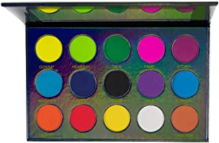 Colorful Matte Eyeshadow Palette Highly Pigmented Bright Colors Eye Shadow - Rumors