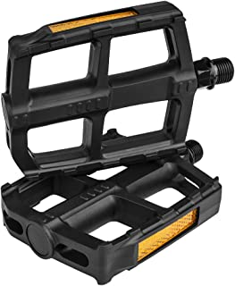 BV Bike Pedal Set, Universal Bicycle Pedals, 9/16-Inch...