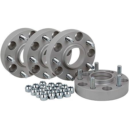 Spurverbreiterung Aluminium 4 Stück 30 Mm Pro Scheibe 60 Mm Pro Achse Incl TÜv Teilegutachten Auto