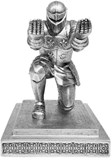 Knight Pen Holder Executive Soldier Figurine Pencil Stand For Office Accessories Pen Stand Desk Organizer Pencil Holder ZH...