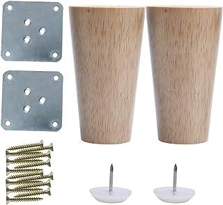 Amazon.es: patas para sofas madera
