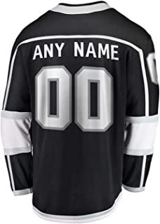 Custom All Hockey Teams Game Jerseys Personalized Any Name and Number Casual Jerseys