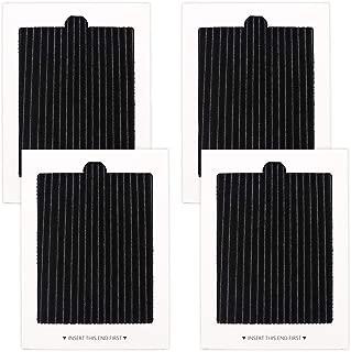 4 Pack Refrigerator Air Filters Replacement, replaces for SCPUREAIR2PK,EAFCBF PAULTRA 242047801, 242047804
