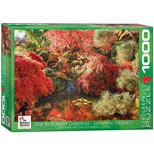 EuroGraphics Butchart Gardens   Japanese Garden Jigsaw Puzzle (1000 Piece) by EuroGraphics