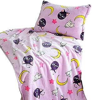 Luna Cartoon Anime Sailor Moon Blanket Cosplay Accessories 59in X 79in