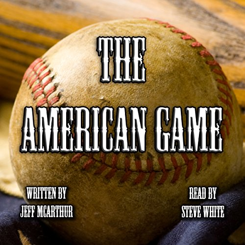 The American Game audiobook cover art