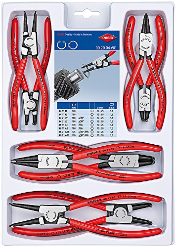 KNIPEX Sicherungsringzangen-Set 00 20 04 V01
