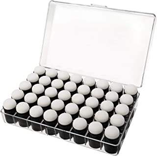 40個 フィンガースポンジ ドーバー 収納ボックス付き 絵画 チョークインク カード 描画