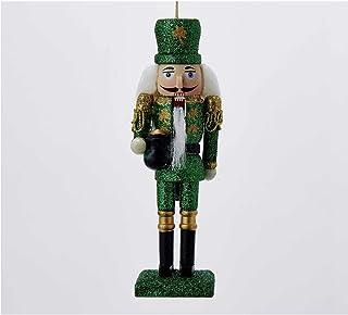 Kurt S. Adler 6-Inch Wooden Irish Nutcracker Ornament, Multi