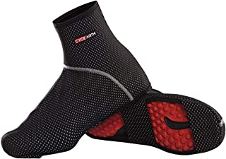CYCEARTH Bike Shoes Covers MTB Cycling Overshoes Waterproof Windrproof Warm Thermal Fleece