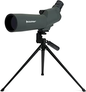 Celestron 20-60x 60 MM 45 Degree UpClose Spotting Scope, 52223