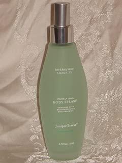 Bath & Body Works Luxuries Purely Silk Juniper Breeze Body Splash, 4.75 fl. oz. (140 ml)