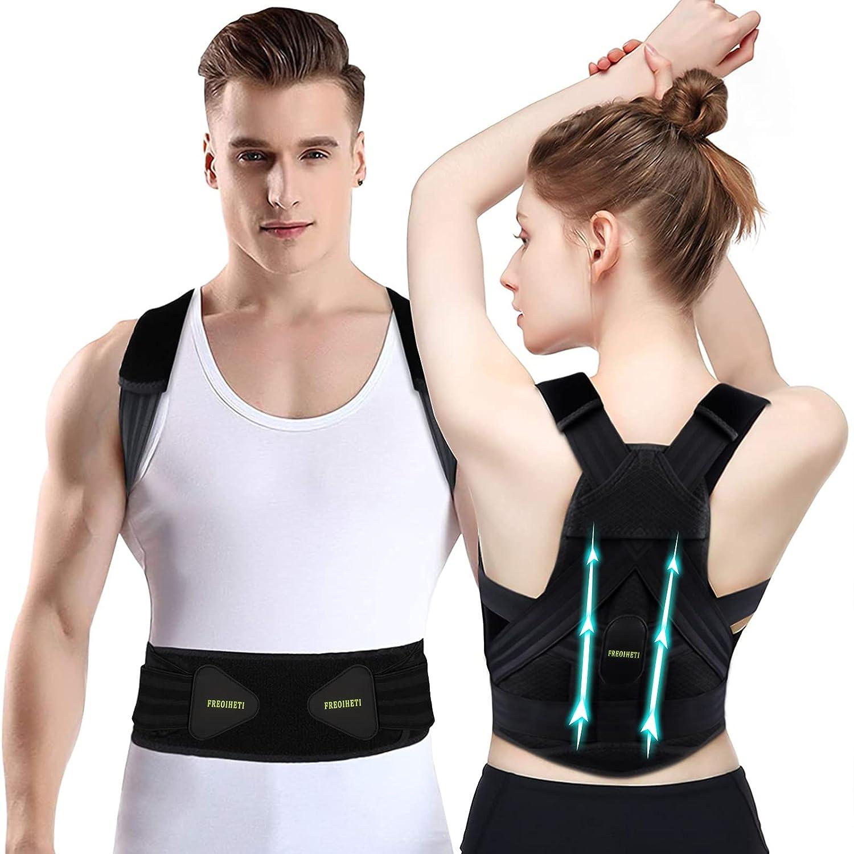 Back Brace Brand new Posture Corrector for Women Men Trainer Mail order Waist and Lu