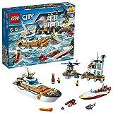 LEGO- City Quartier Generale della Guardia Costiera Costruzioni Piccole Gioco Bambino, Multicolore, 60167
