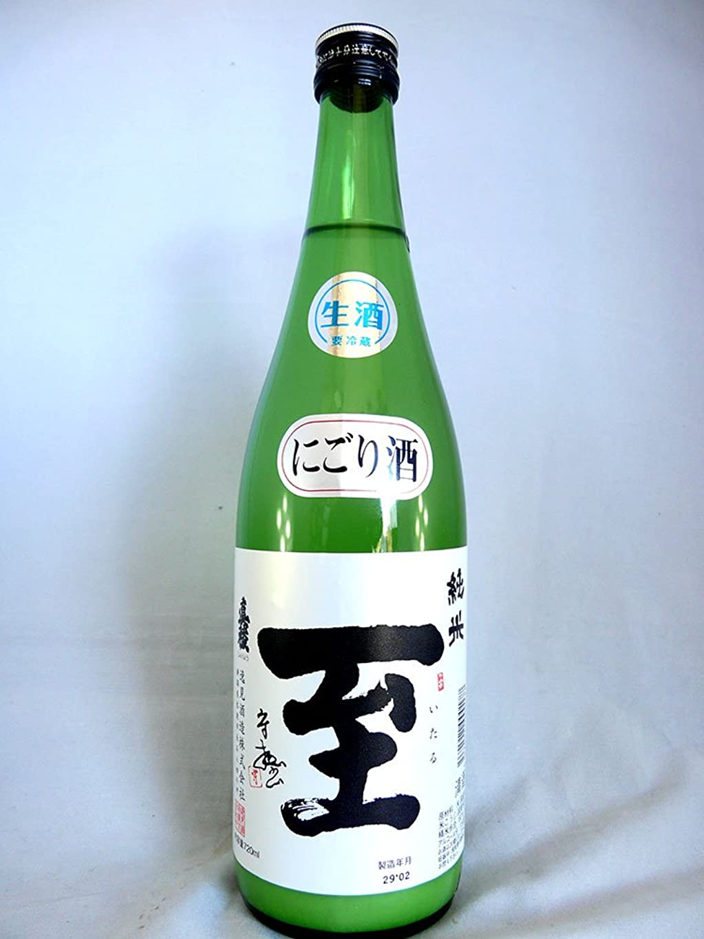 海洋革新目立つ至 (いたる) 純米生にごり酒 720ml