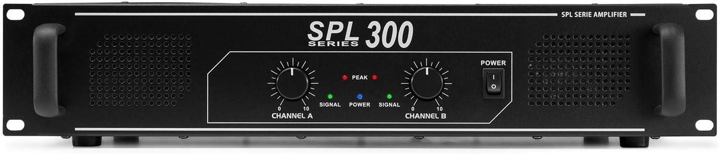 gaixample.org Skytec SPL 300 Ampli audio sono DJ 300W LED ...