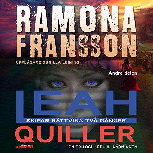 Leah Quiller skipar rättvisa två gånger [Leah Quiller Serves Justice Twice, Book 2] audiobook cover art