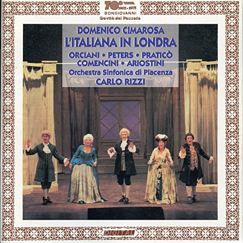 L'italiana in Londra, Act II: Act II: Recitative: Credimi, cara amica (Livia)