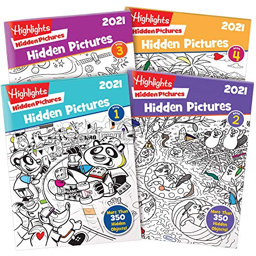 Highlights Hidden Pictures 2021 4-B…