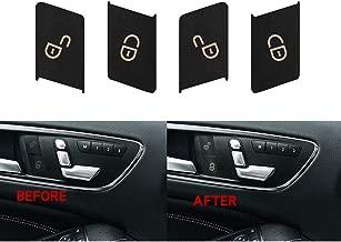Door Lock Switch Button Repair Stickers For 2008-2014 Mercedes Benz W204 C300