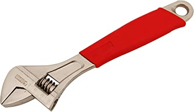 Rubber Handle Adjustable Wrench 12inch