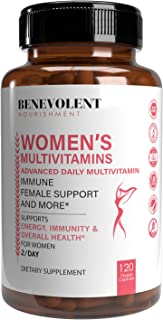 Sponsored Ad - Multivitamin for Women - Supplement for Energy, Immunity, & Female Support - Daily Vitamins for Women with ...