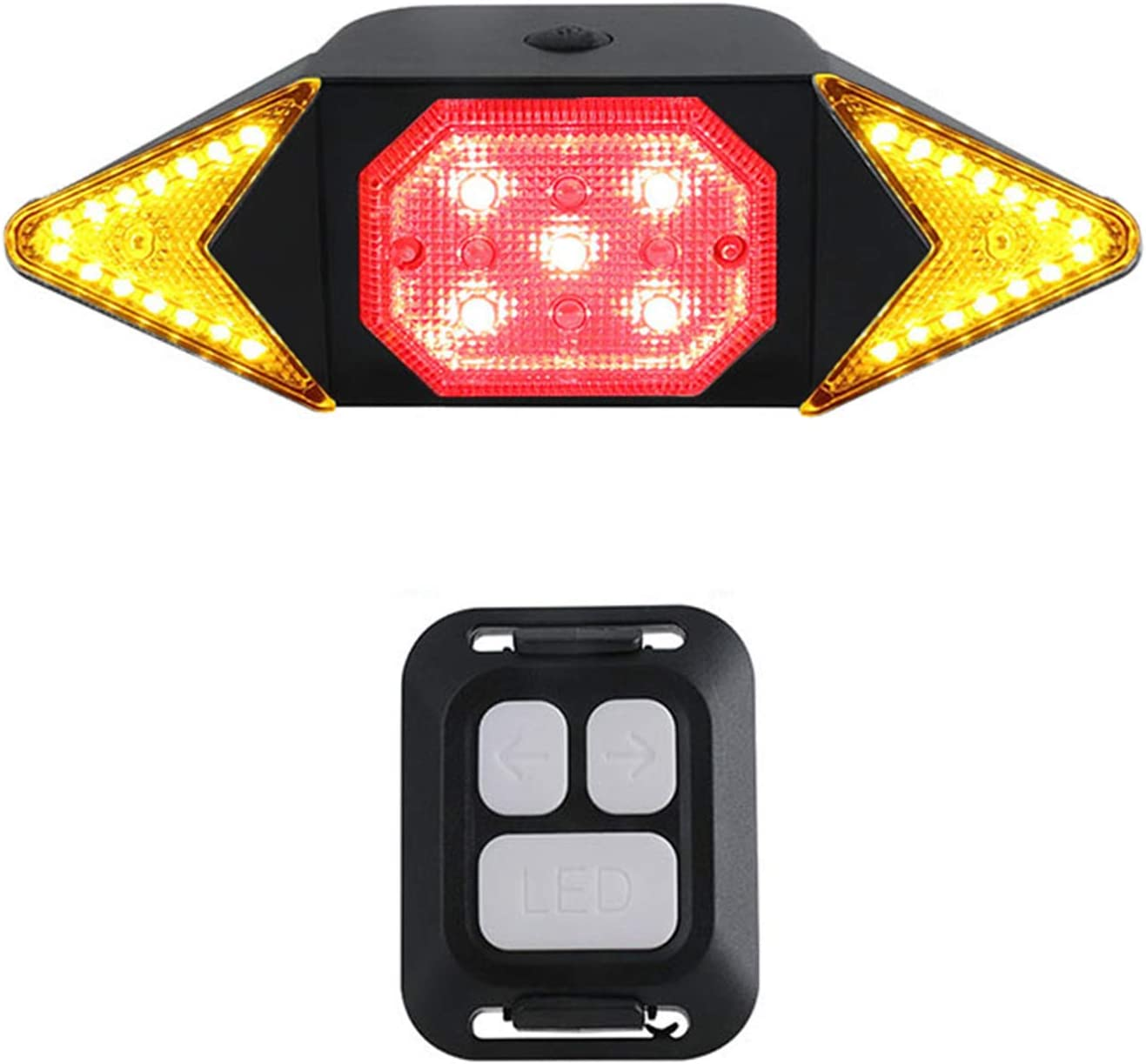 Bike Tail Light with Turn Easy-to-use C Signals LED 67% OFF of fixed price Rechargeable Waterproof