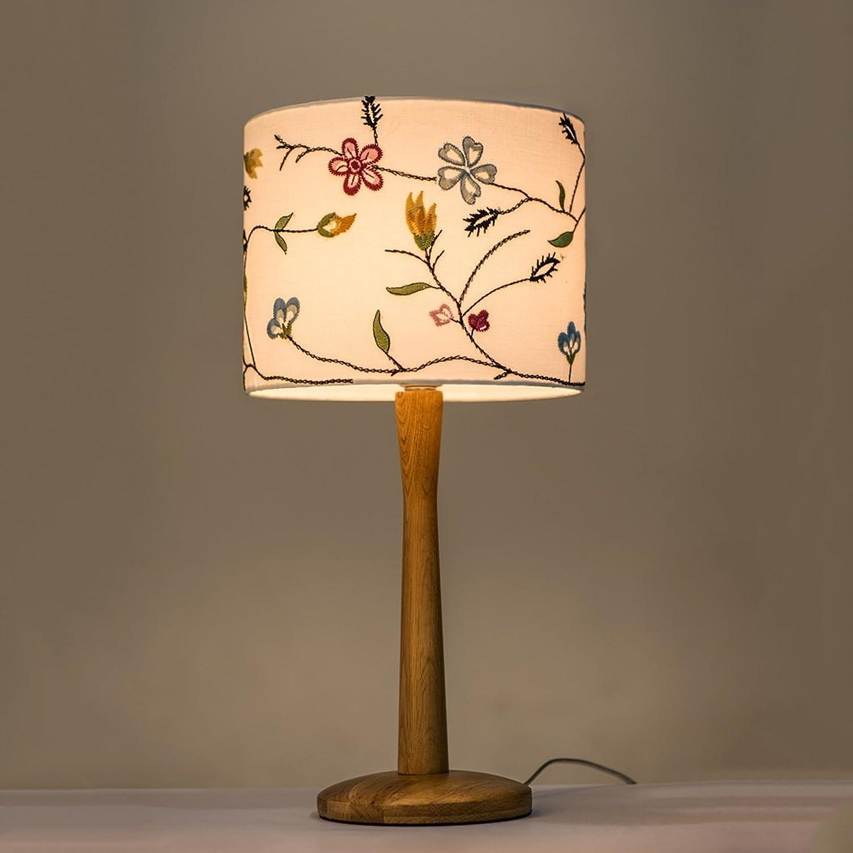 Guo Tischlampe Schlafzimmer Bett Kreative Einfache Moderne Tischlampe Warm Nachttischlampe Nordic Holz Tischlampe (Farbe    2) B01N3Z7F5R   | Kaufen