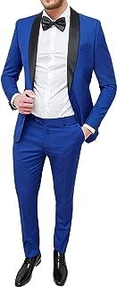 Best 2 piece suit royal blue Reviews