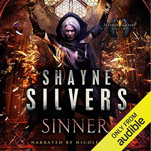 Sinner audiobook cover art