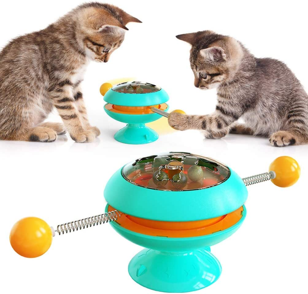 HFBBY Turntable Cat New Shipping Cheap SALE Start Free Toy Windmill Tease Stick C