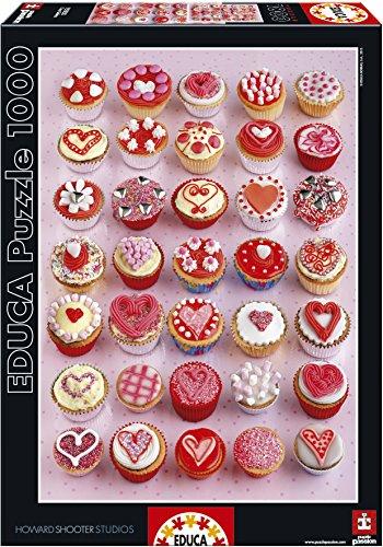 Educa Borrás - Cupcakes, Puzzle de 1000 Piezas (15550)
