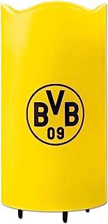 Borussia Dortmund - Proyector LED de cera real con logotipos giratorios del BVB / Borussia Dortmund en el techo, incluye mando a distancia